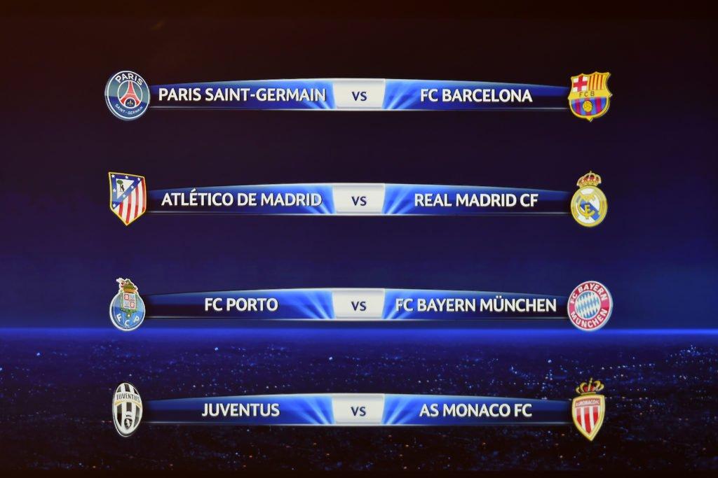 quart de finale UEFA