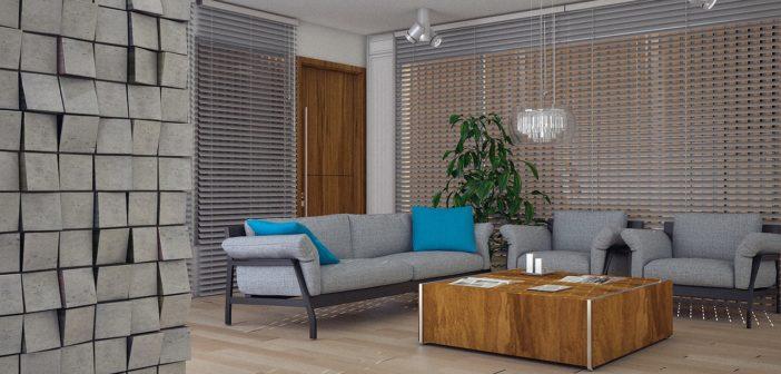 intérieur chaleureux et original