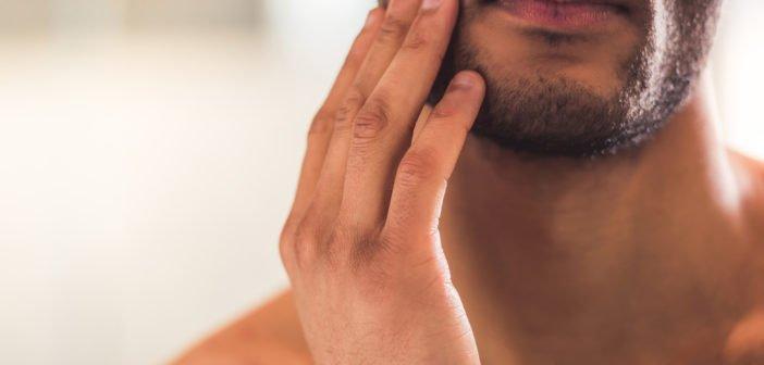 le rasage électrique sur peau sèche