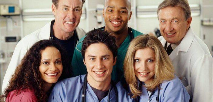 serie comedie scrubs